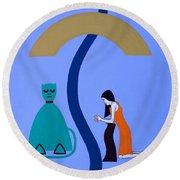 Reconciliation 2 Round Beach Towel