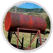 Red Barrel Round Beach Towel