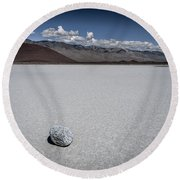 Red Cinder Cone Round Beach Towel