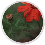 Red Passion... Round Beach Towel