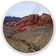Red Rock Canyon 1 Round Beach Towel