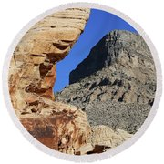Red Rock Canyon Nv 2 Round Beach Towel