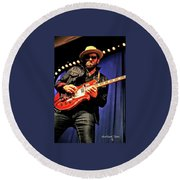 Red, White, And  Blues Man Round Beach Towel