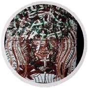 Redeemer Round Beach Towel