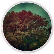 Reed Tree Round Beach Towel