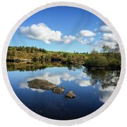 Reflect On This... Round Beach Towel