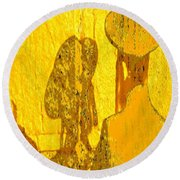 Reflecting Reflections Round Beach Towel