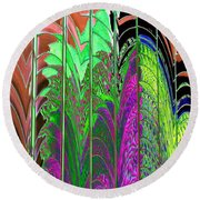 Reflection 2 Round Beach Towel