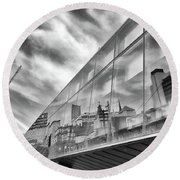 Reflections, Art Gallery Of Ontario, Toronto Round Beach Towel