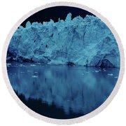 Reflections - Glacier Round Beach Towel
