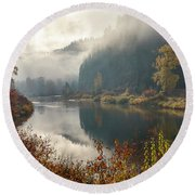 Reflections In The Joe Round Beach Towel