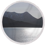 Reflections King Cove Round Beach Towel