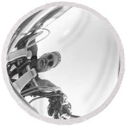 Reflections Of Freedom Round Beach Towel