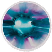 Reflections Of The Universe No. 2307 Round Beach Towel