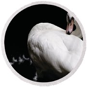 Regal Plumage Round Beach Towel