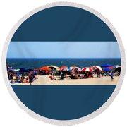 Rehobath Beach Round Beach Towel
