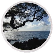 Relax - Recover Round Beach Towel