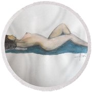 Relax Round Beach Towel