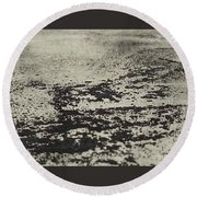 Remains 5 Round Beach Towel