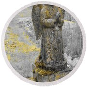 Remember Before God Vi Round Beach Towel