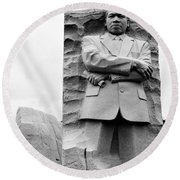 Remembering Mr. King Round Beach Towel