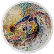 Remembering Safed Round Beach Towel