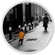 Remembrance Day Round Beach Towel