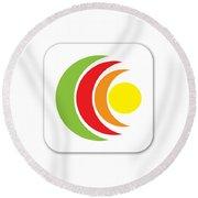 Remix - App Icon Round Beach Towel