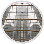 Rencen From Within Round Beach Towel
