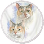 Reno Round Beach Towel