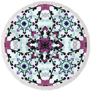Repetition Round Beach Towel