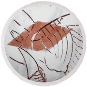 Repose - Tile Round Beach Towel