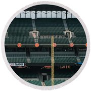 Retired Numbers Of The Orioles Greatest Ever Round Beach Towel
