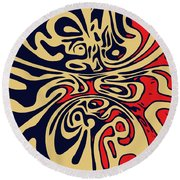 Retroform  Round Beach Towel