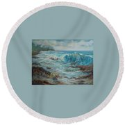 Return To Innocence Round Beach Towel