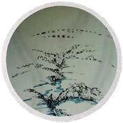 Rfb0206-2 Round Beach Towel