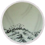 Rfb0212-2 Round Beach Towel