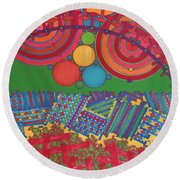 Rfb0426 Round Beach Towel