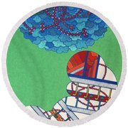 Rfb0429 Round Beach Towel