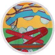 Rfb0433 Round Beach Towel