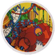 Rfb0507 Round Beach Towel