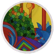 Rfb0509 Round Beach Towel