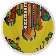 Rfb0521 Round Beach Towel