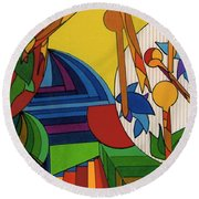 Rfb0532 Round Beach Towel