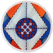 Rfb0576 Round Beach Towel