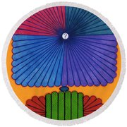 Rfb0577 Round Beach Towel