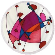 Rfb0584 Round Beach Towel