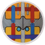 Rfb0603 Round Beach Towel