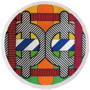 Rfb0608 Round Beach Towel