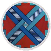 Rfb0623 Round Beach Towel